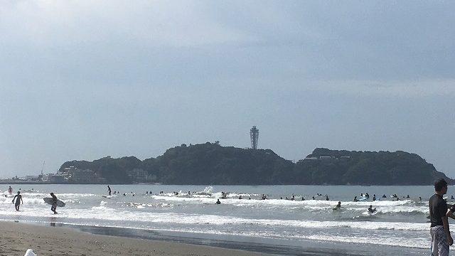サーフィン初心者におすすめ 鵠沼海岸