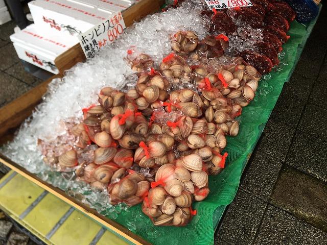 那珂湊 おさかな市場 人気 お土産 はまぐり ホンビノス貝