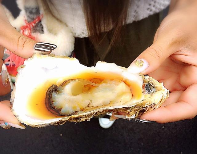 那珂湊 おさかな市場 人気 生牡蠣