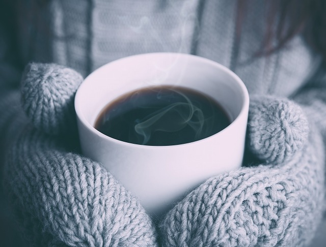 あつあつコーヒー